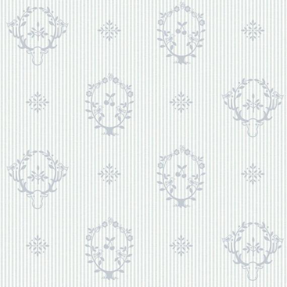 Błękitna tapeta dziecięca Grandeco JACK 'N ROSE LL-08-04-4