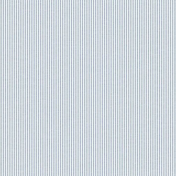 Błękitno-biała tapeta dziecięca w paski Grandeco JACK 'N ROSE LL-03-07-6