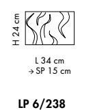 Kinkiet Sillux VENEZIA LP 6/238 02/01 satynowo-biały