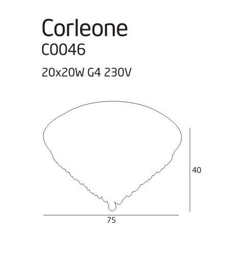 Plafon MaxLight CORLEONE C0046