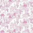 Różowa tapeta dziecięca Grandeco JACK 'N ROSE LL-05-09-2